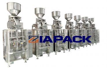 Automatic salt bag forming filling sealing packaging machine