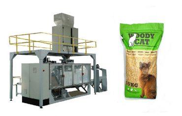 5kg-25kg nga mga sako nga cat litter packing machinery