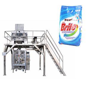 4 ulo linear weigher washing powder detergent powder packing machine