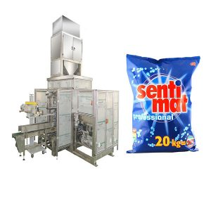 Automatic Premade Big Bag Packing Machine Detergent Powder Open-mouth Bagger