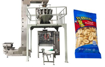 automatic snack food packing machine