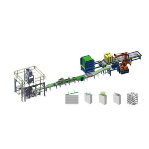 Automatic Woven Poly Bag Packaging Palletizing Line