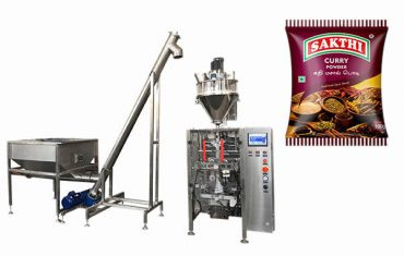 100g-500g curry powder packaging machine