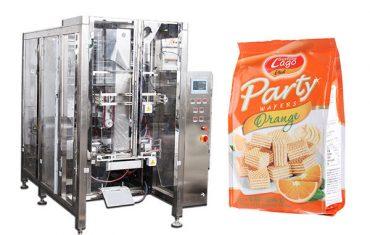 full automatic food quad seal bag packing machine