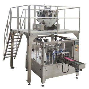 Ang Rotary Automatic Zipper Bag Sulati ang Sealing Packing Machine Alang sa binhi nga mga nut