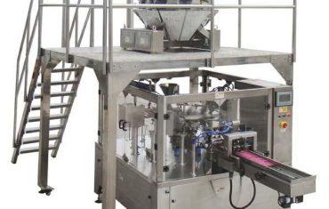 rotary automatic zipper bag pagpuno seal packing machine alang sa mga binhi nga nuts