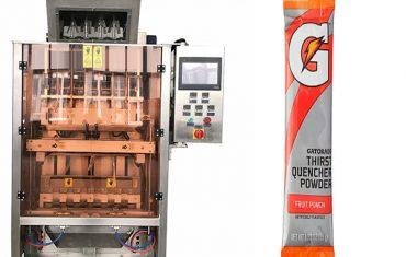 Ang mga gagmay nga sachets mao ang multi-line packing machine