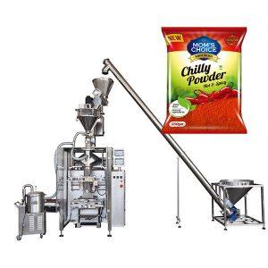VFFS Bagger Packing Machine uban sa Auger Filler alang sa Paprika ug Chilli Food powder